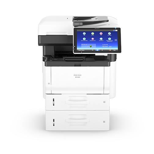 stampante multifunzione con display e doppio cassetto