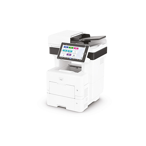 stampante multifunzione con display colori della Ricoh